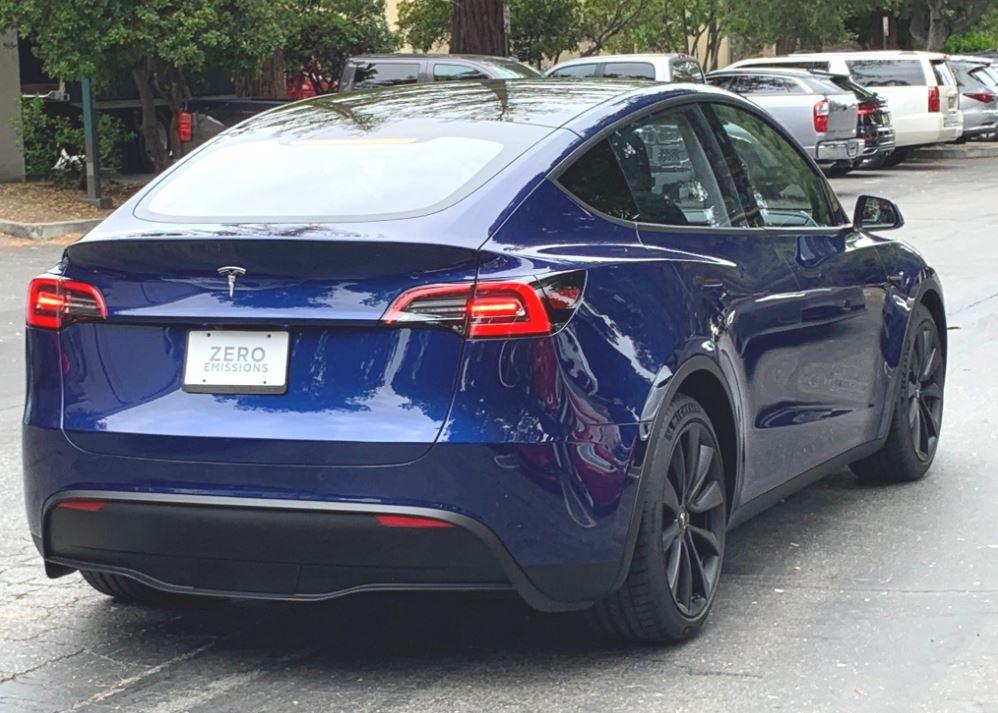¡Cazado! Tesla Model Y, primera aparición en público