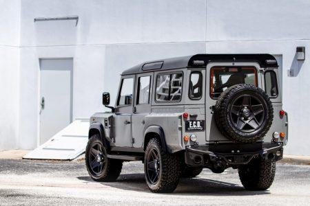ECD Project Soho: Un Land Rover Defender con un motor V8 de 570 CV