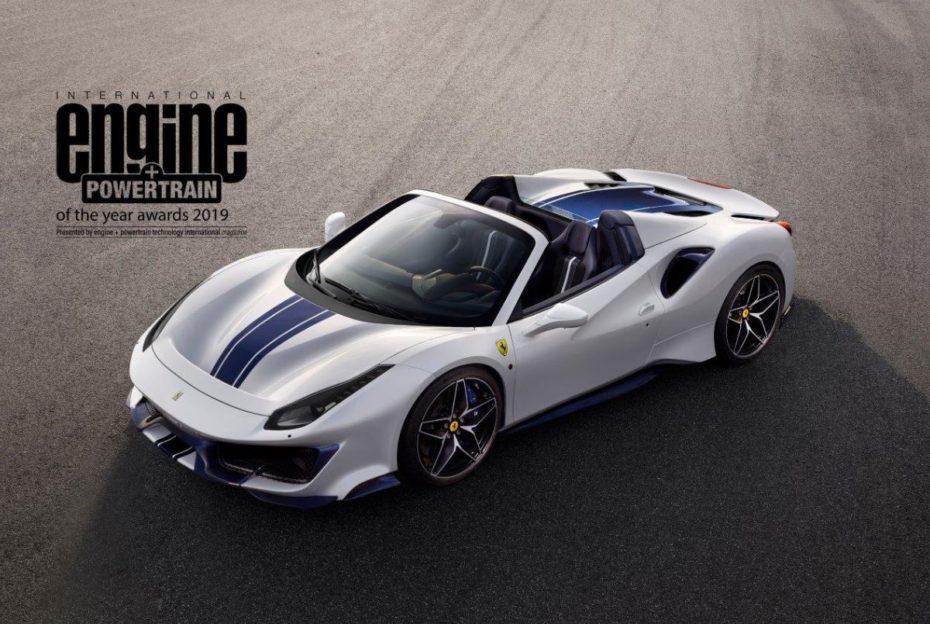 """El """"Motor del año 2019"""" es el V8 de Ferrari... por cuarto año consecutivo"""