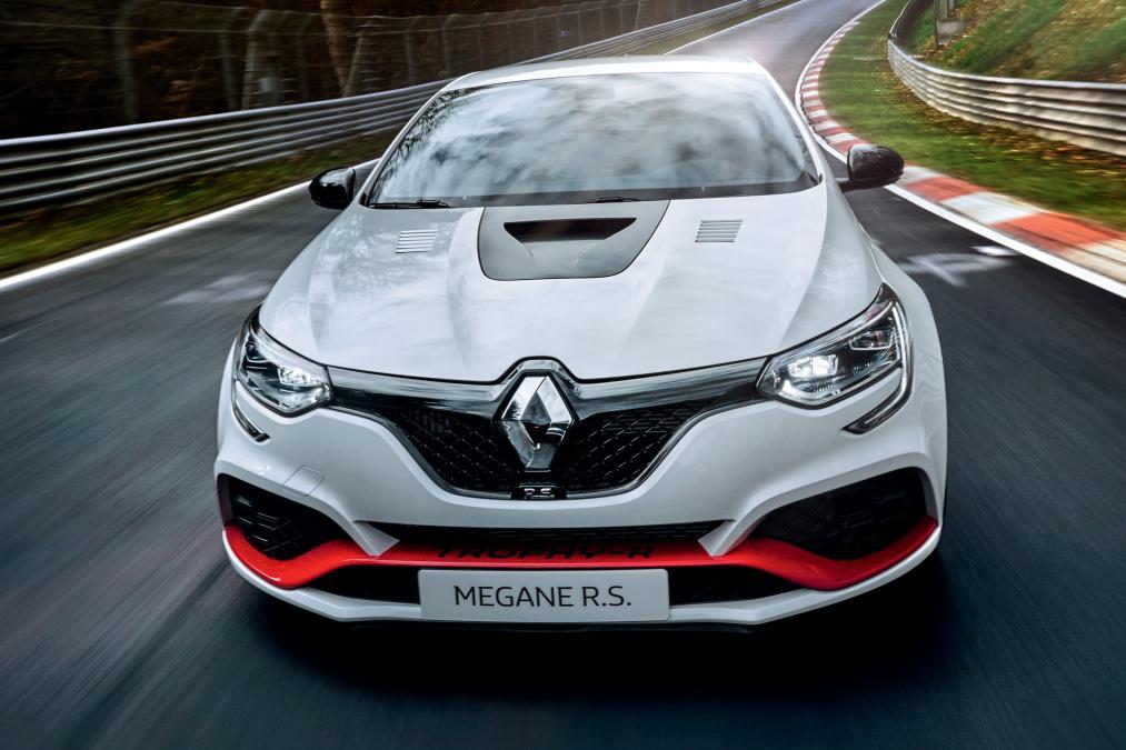 El Renault Megane R.S. Trophy-R 2019 establece un nuevo récord en Nürburgring: El Honda Civic Type R destronado
