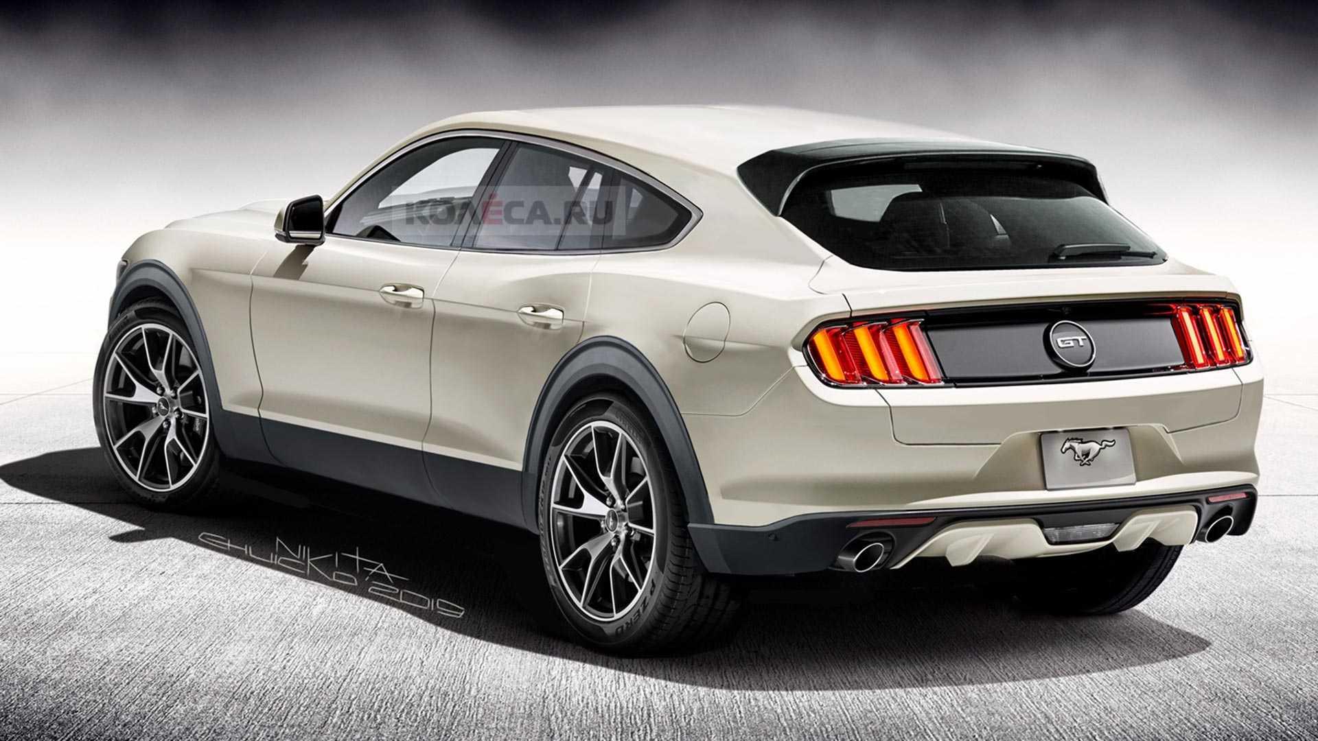 El SUV inspirado en el Ford Mustang podría tener este aspecto