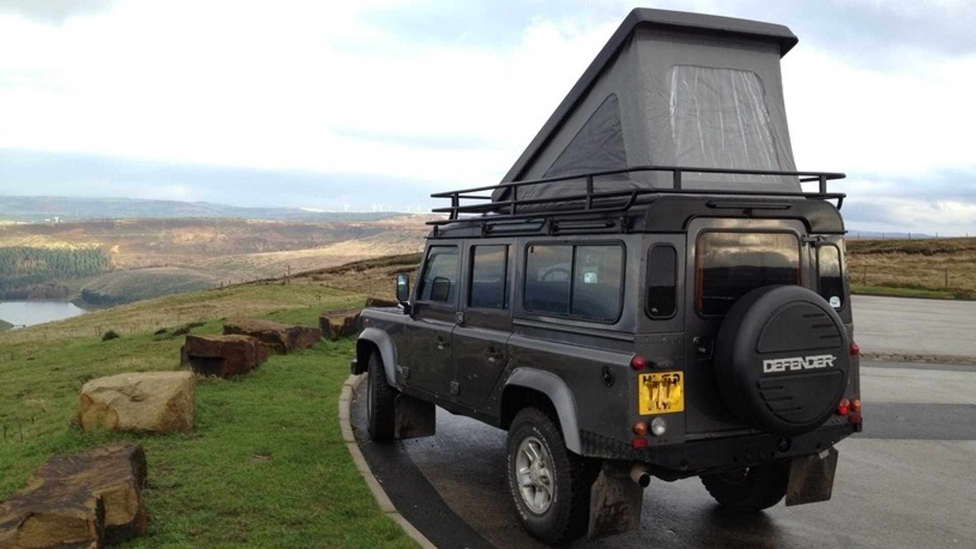 Este Land Rover Defender camperizado te permitirá ir y dormir donde tú quieras