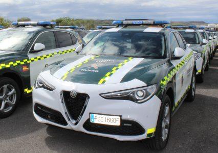 La Guardia Civil adquiere 97 Alfa Romeo Stelvio con el motor 2.0 Turbo de 200 CV