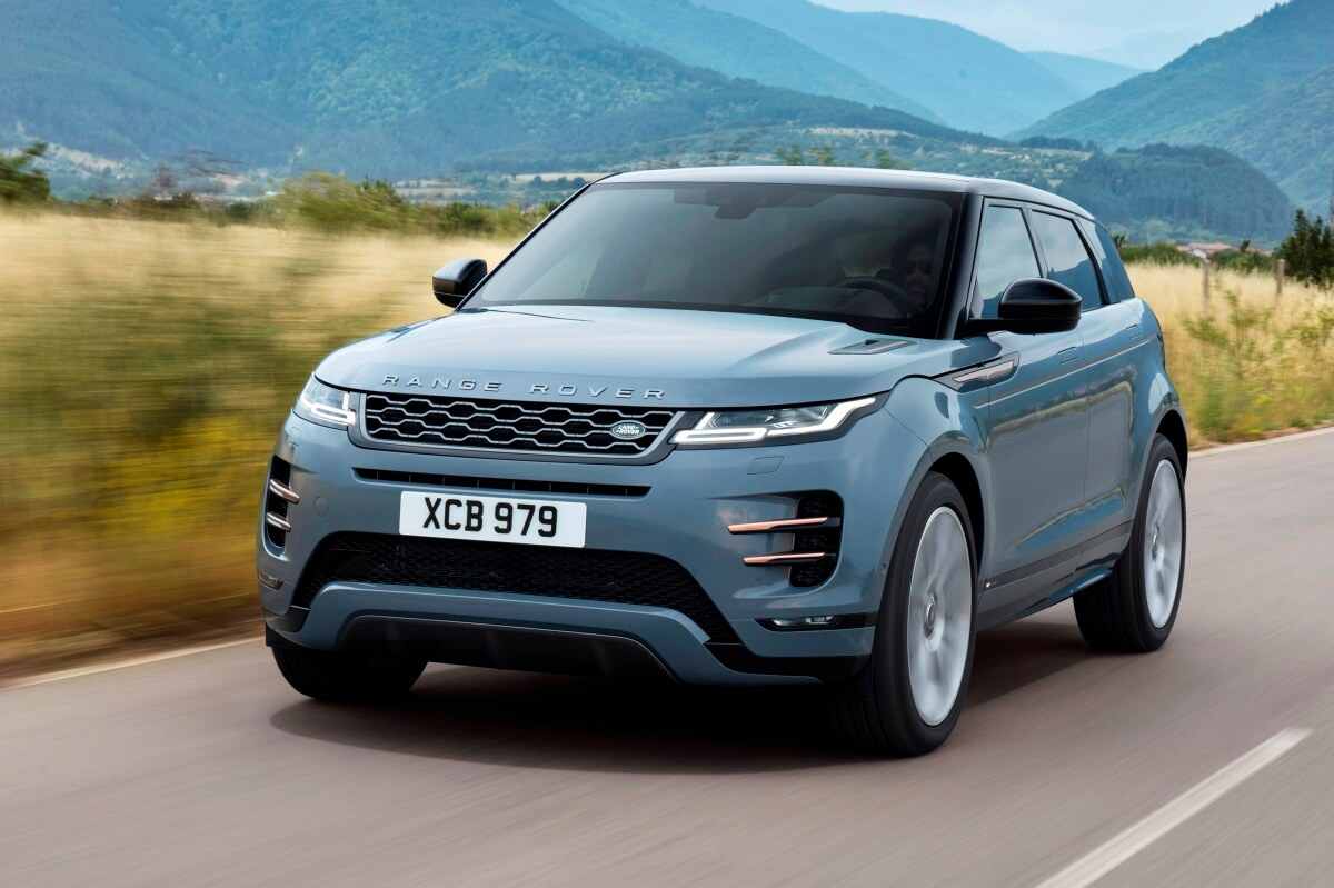 No veremos una variante eléctrica sobre el Range Rover Evoque de segunda generación