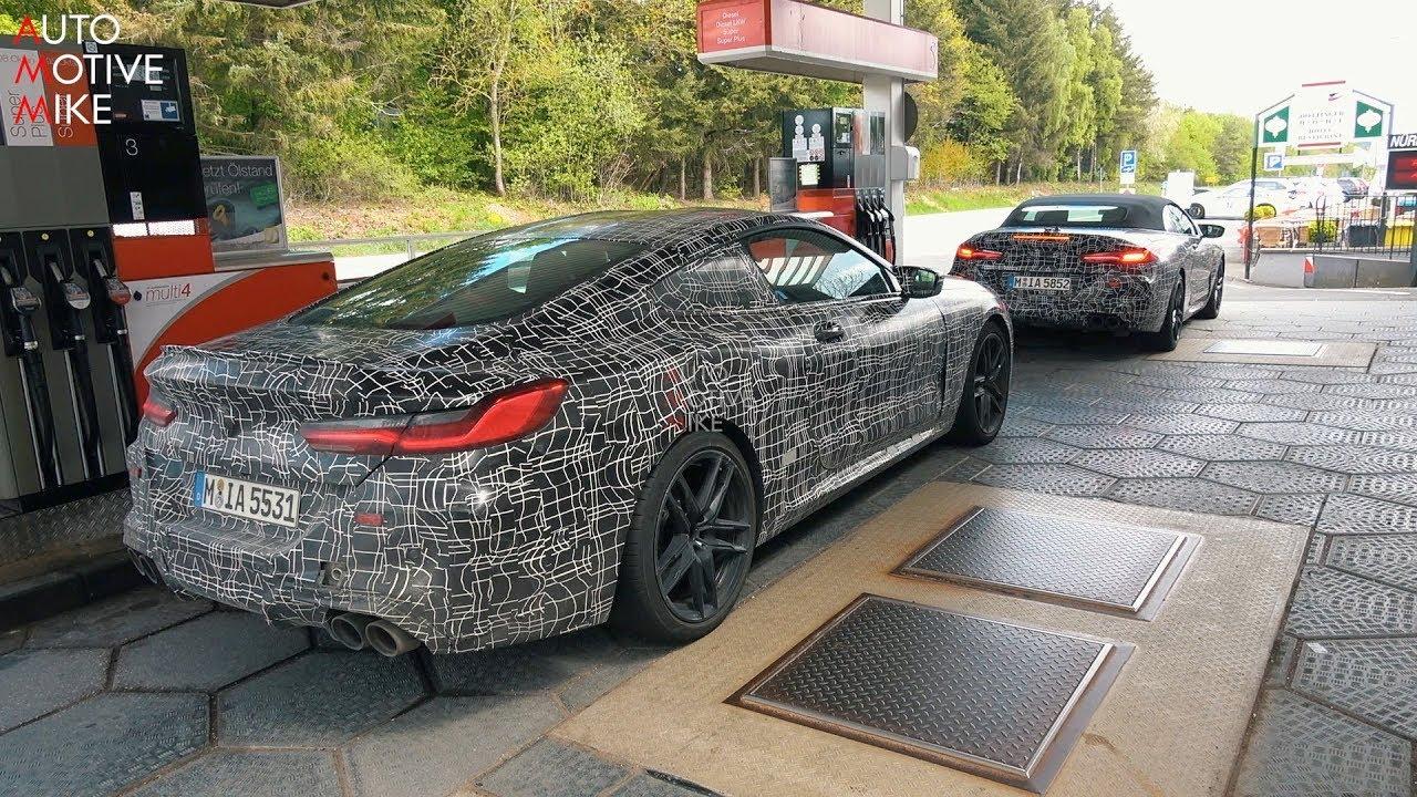 2020 BMW M8 SPIED TESTING AT THE NÜRBURGRING