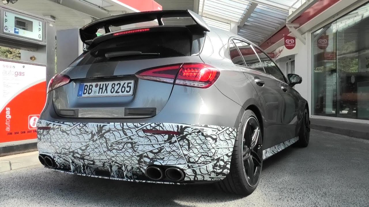 2020 MERCEDES-AMG A45 TESTING AT THE NÜRBURGRING