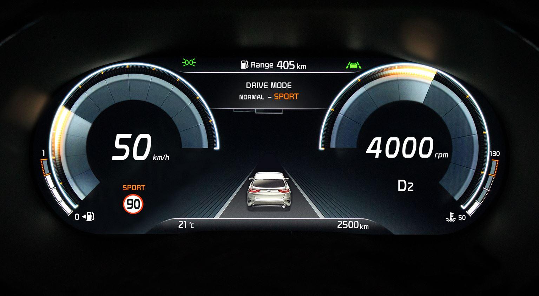 Así es el cuadro 100% digital del Kia XCeed: ¿Qué información muestra?