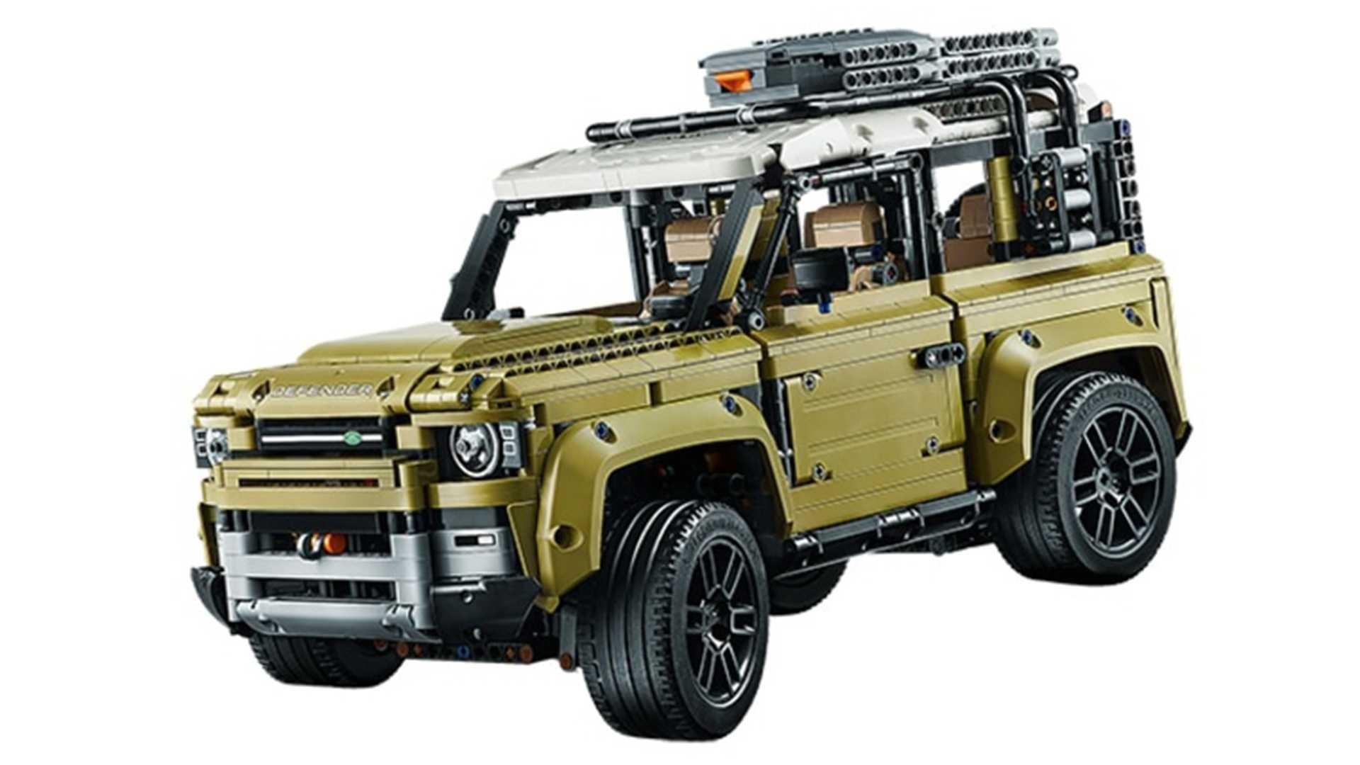 El Land Rover Defender 2020 se filtra con un kit de LEGO Technic