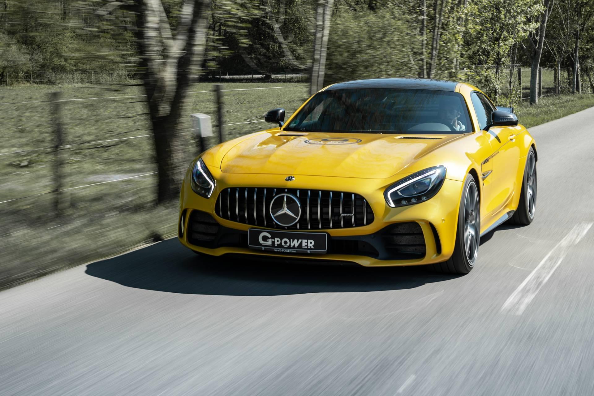 El Mercedes-AMG GT R llega a los 800 CV en su V8 biturbo de la mano de G-Power