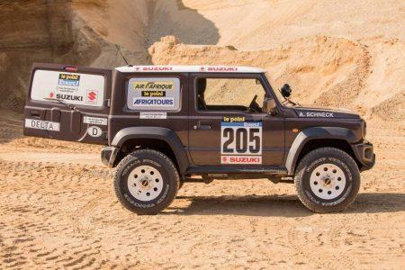 El Suzuki Jimny de Delta 4×4 homenajea al Rally París-Dakar