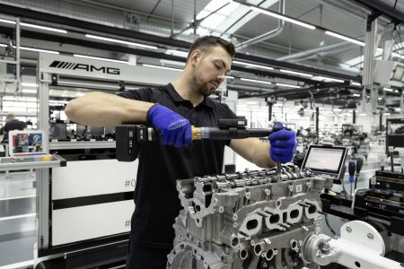 Motor M 139 de Mercedes-AMG: 421 CV para el cuatro cilindros más potente del mundo