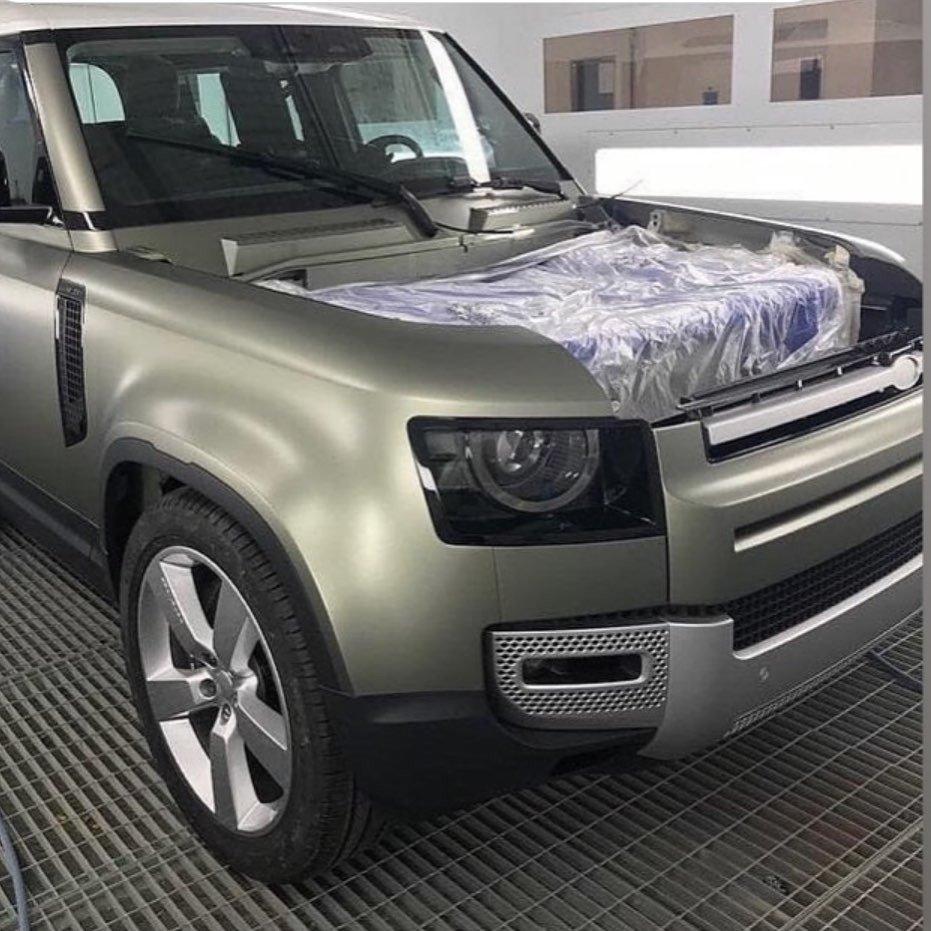 Otra nueva filtración del Land Rover Defender 2020, esta vez de su frontal