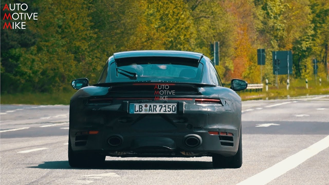 LOUD 2020 PORSCHE 992 TURBO S SPIED TESTING AT THE NÜRBURGRING!