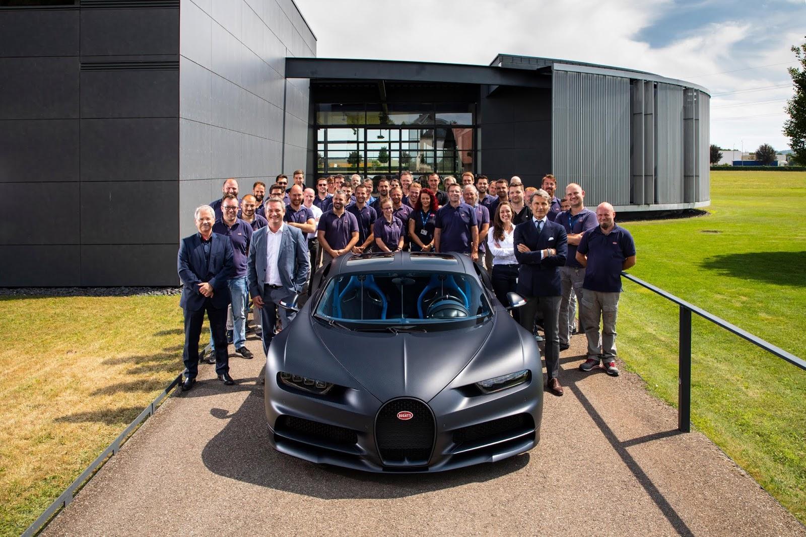 Más información del SUV de Bugatti: rival del Ferrari Purosangue