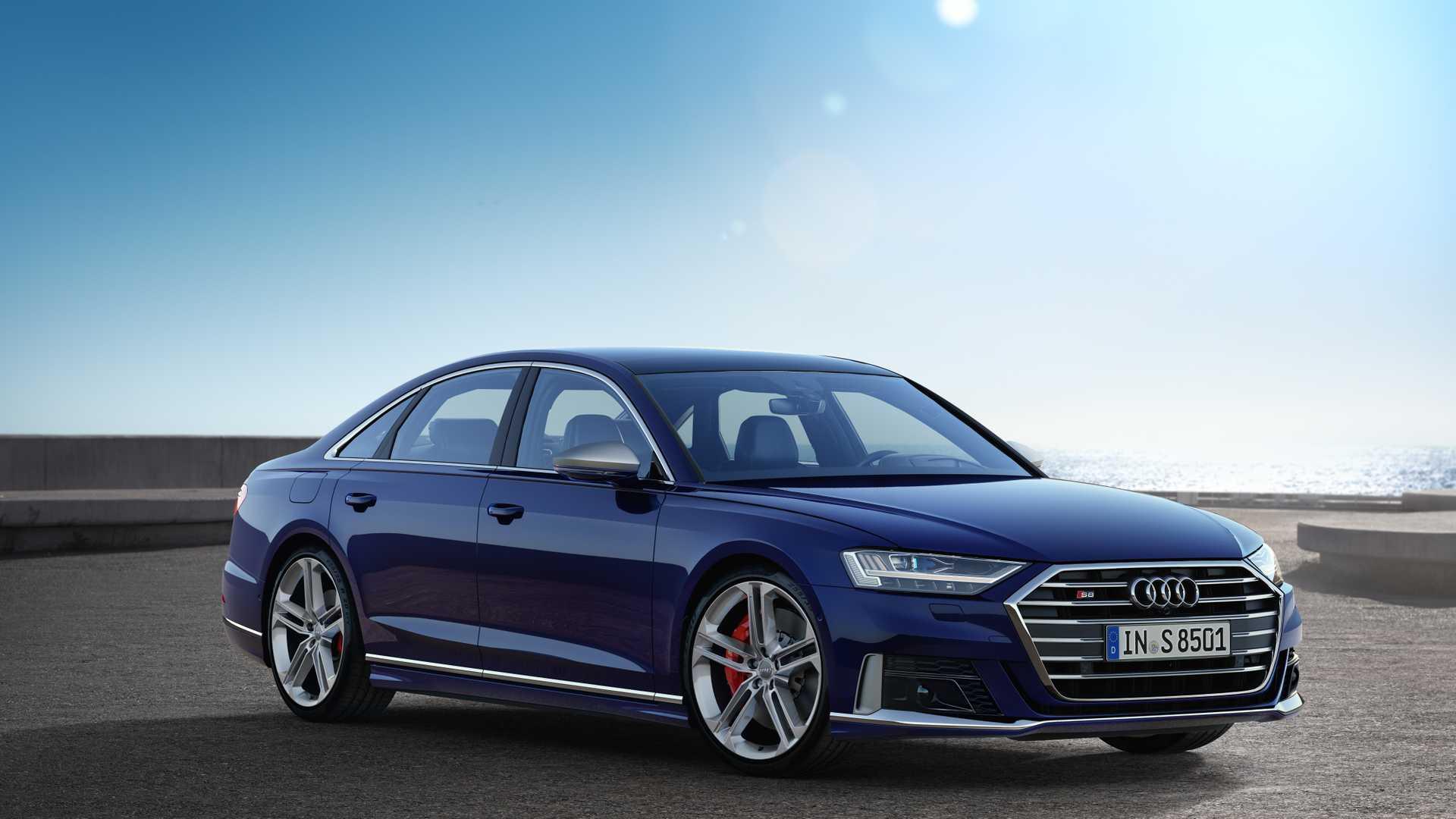 El Audi S8 2019 ya es oficial: Microhibridación, etiqueta ECO y 571 CV de su V8 4.0 TFSI