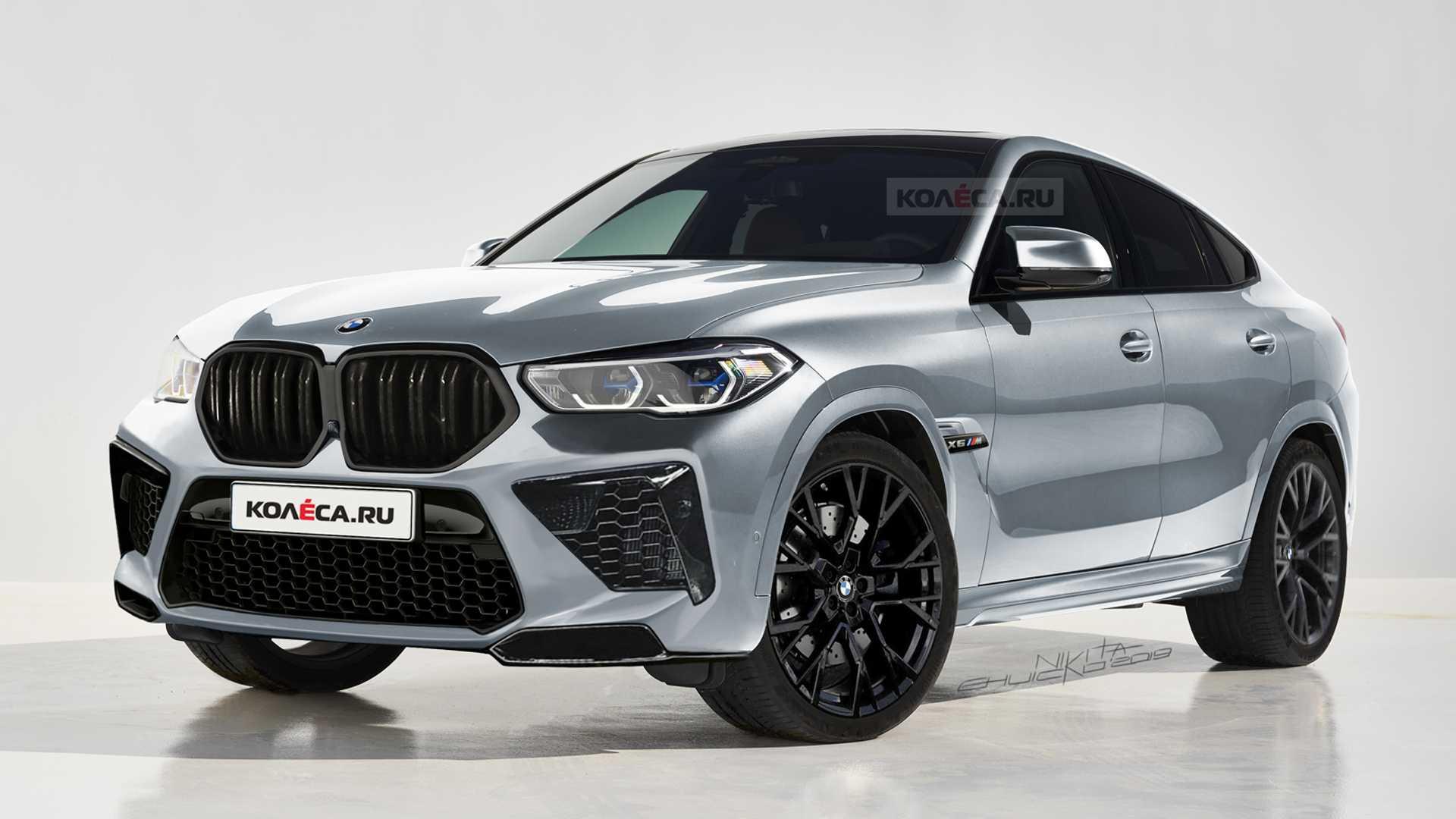 El BMW X6 M tendrá este aspecto: lo veremos en solo unos meses