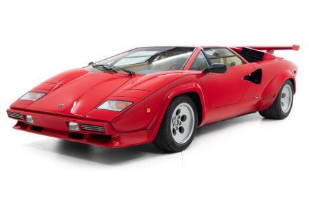 El Lamborghini Countach LP500 S de Mario Andretti puede ser tuyo si tienes 445.000 euros