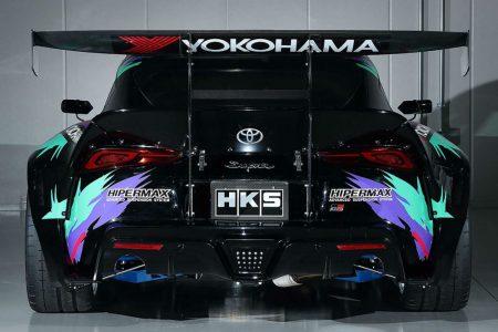 El Toyota Supra de HKS con un 2JZ-GTE de 3.4 litros y 700 CV lo veremos en Goodwood