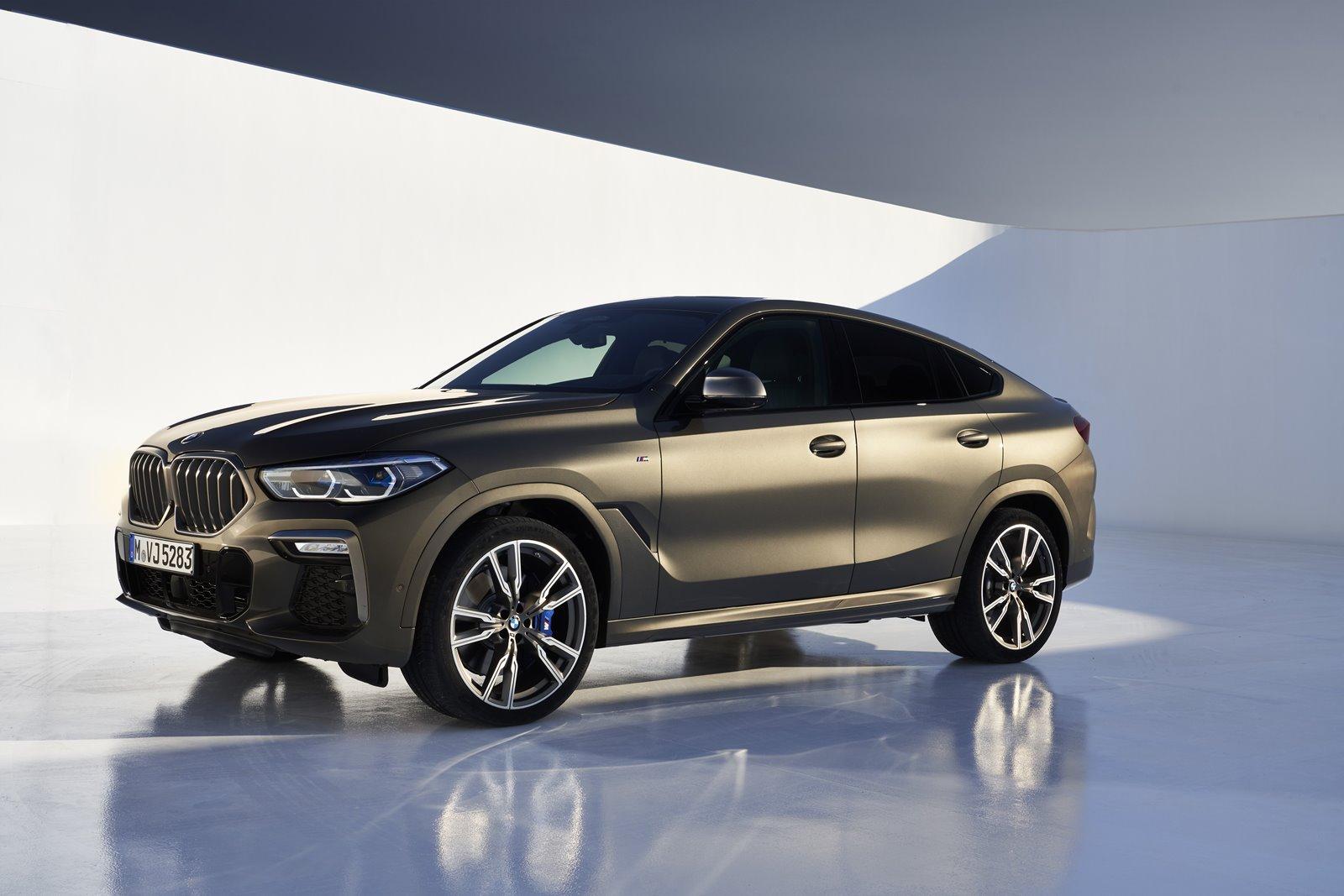 Precios del BMW X6 2020 para España: Desde 81.650 euros