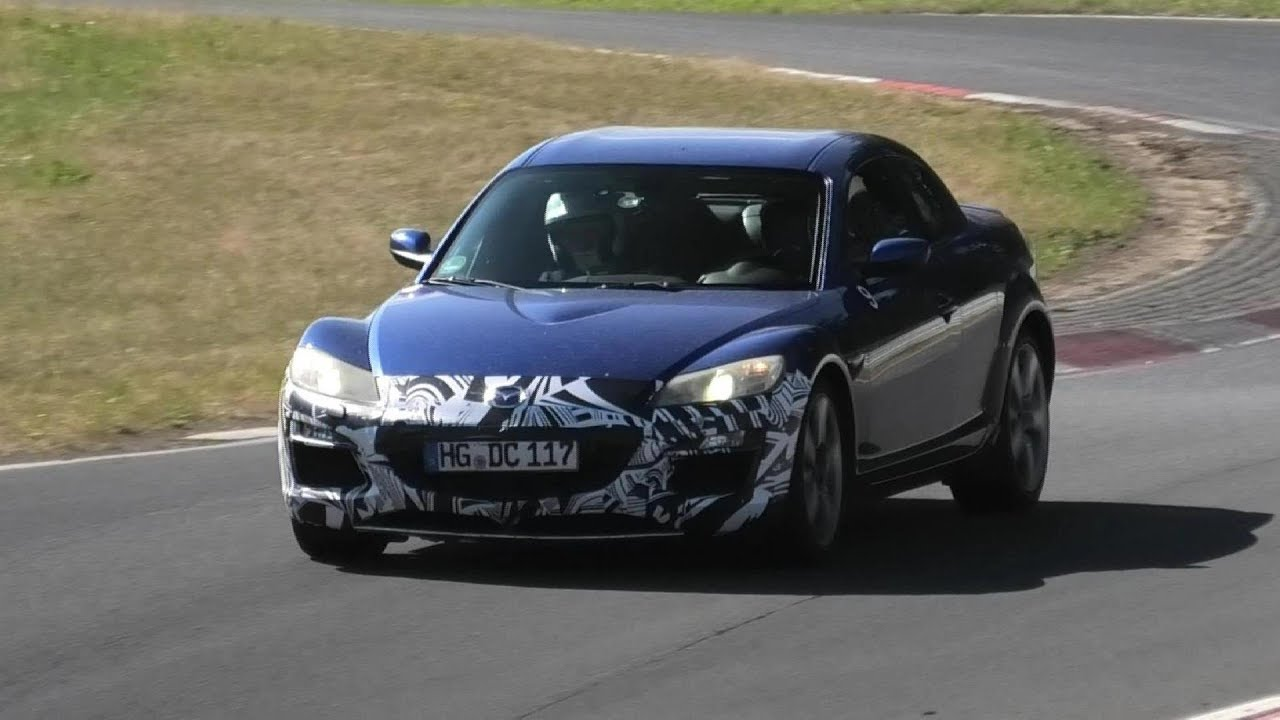 The Rotary Engine Is Finally Coming Back?? | MAZDA TESTING THE RX-8 ON THE NURBURGRING