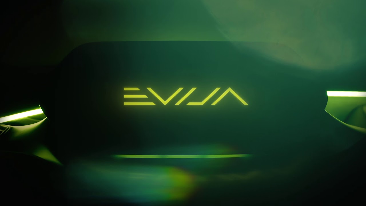 Lotus Evija electric hypercar name announced
