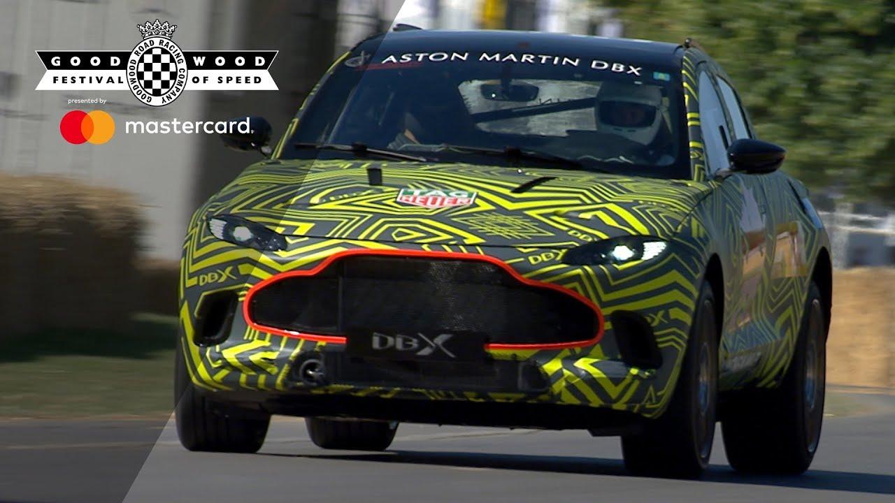Aston Martin DBX Prototype makes debut at FOS