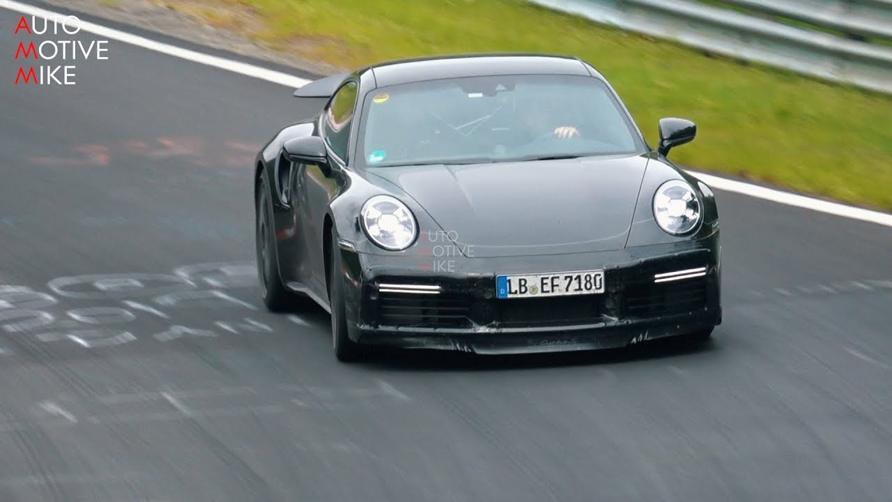 2020 PORSCHE 992 TURBO S SPIED TESTING AT THE NÜRBURGRING!