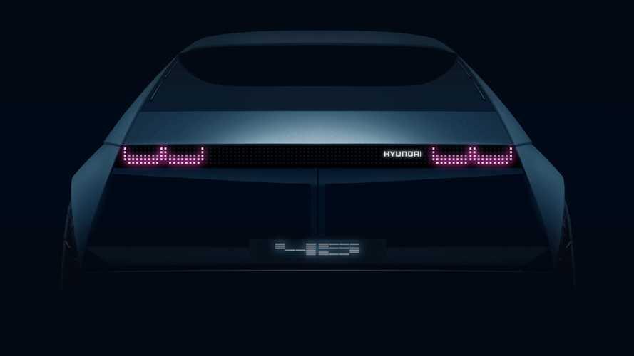Hyundai 45: primer anticipo oficial del próximo eléctrico surcoreano