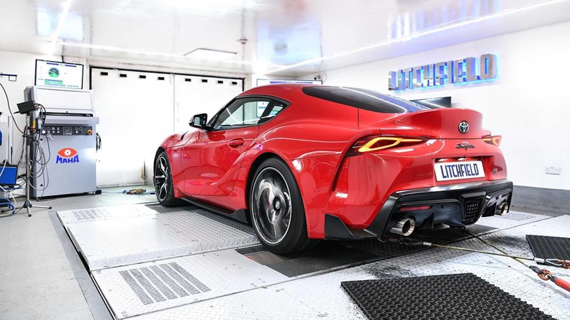 Litchfield Motors lleva al Toyota Supra 2020 a 425 CV con una reprogramación de la centralita