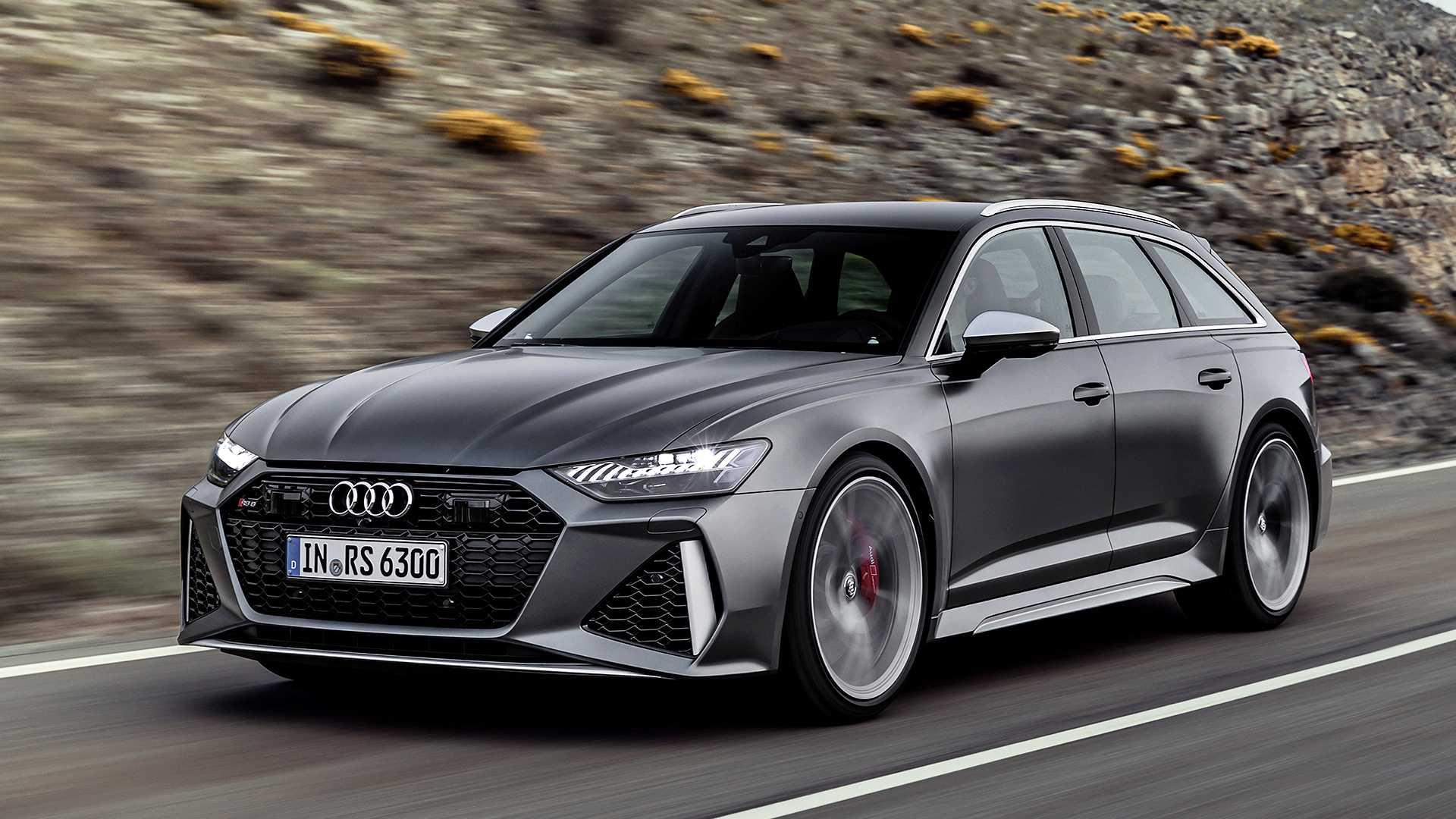 Oficial: nuevo Audi RS6 Avant, híbrido y 600 caballos de potencia