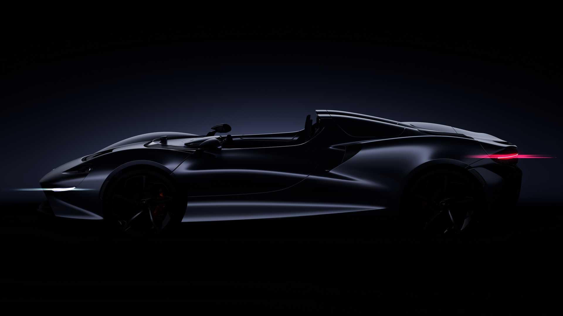 """Primer anticipo oficial del McLaren """"Speedster"""""""