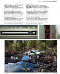 ¡Al descubierto! Así luce el Land Rover Defender 90 y 110