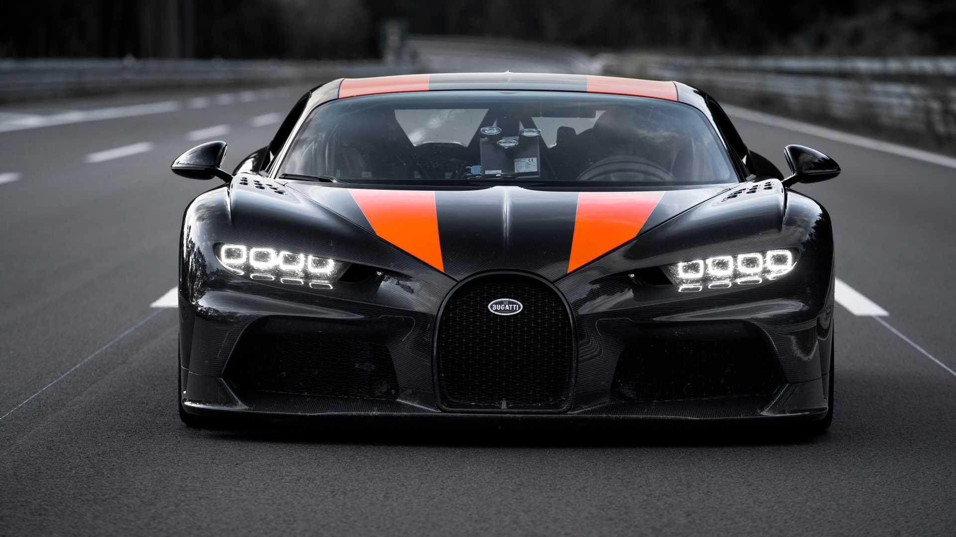Bugatti ya prepara un Chiron más rápido y potente, y te traemos los primeros detalles
