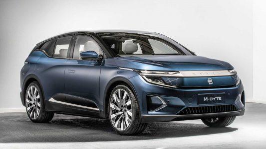 Byton M-Byte: SUV chino 100% eléctrico y una autonomía de hasta 435 km