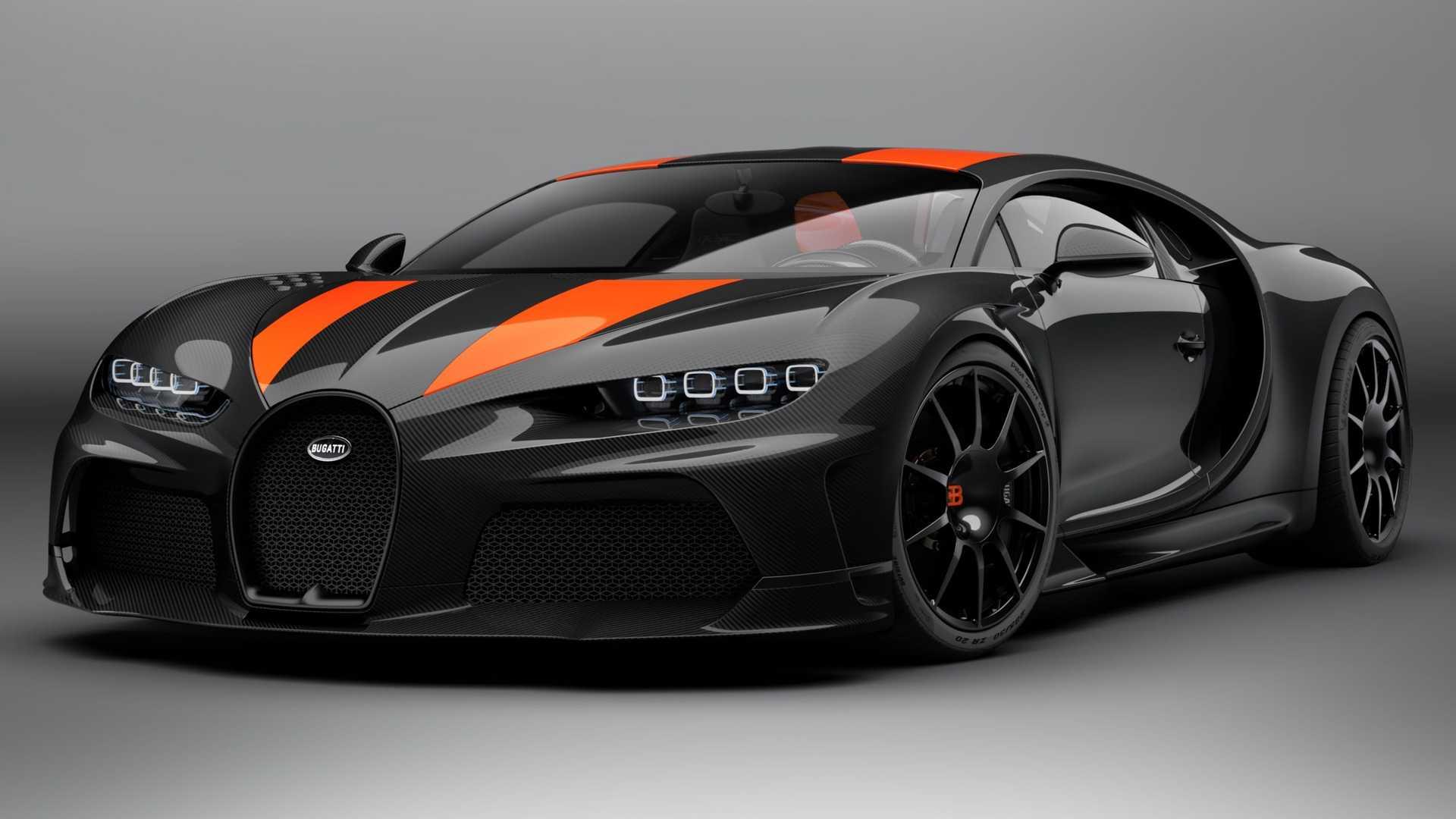 El Bugatti Chiron Super Sport 300+ ya es oficial: primeras imágenes
