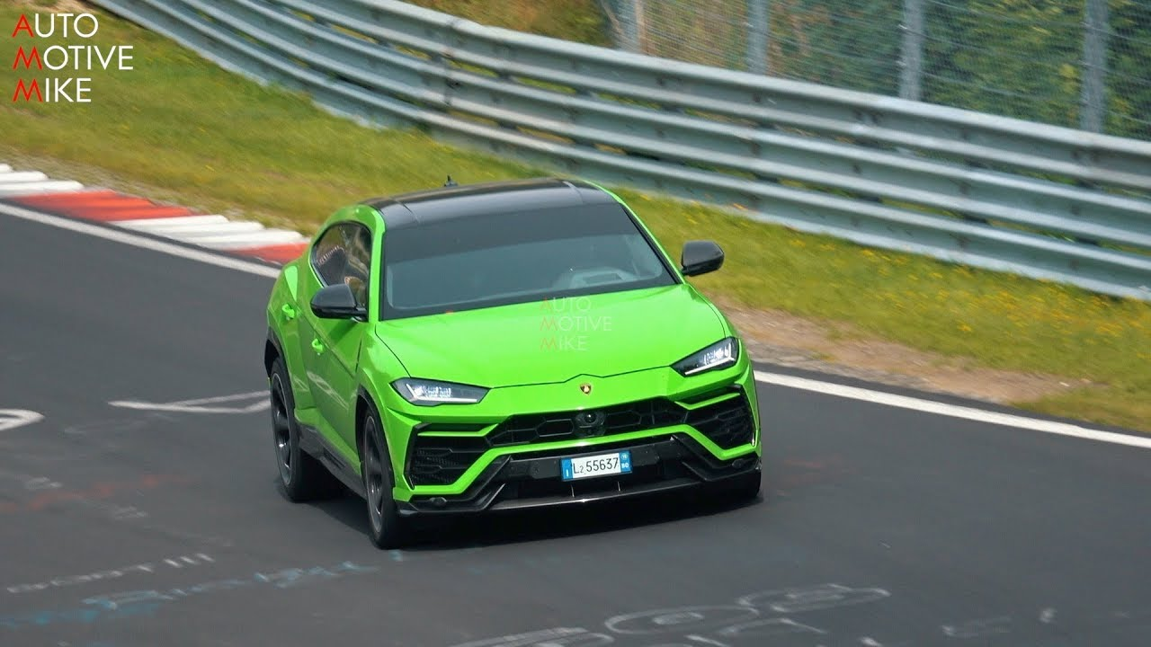 WHAT IS LAMBORGHINI TESTING WITH THE URUS ON THE NÜRBURGRING??
