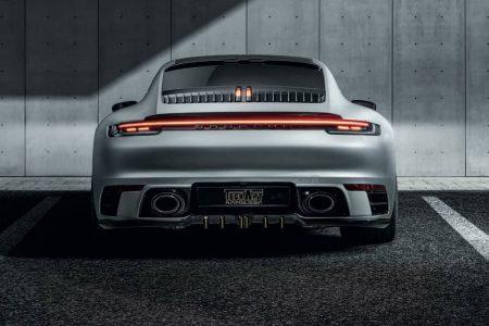 60 CV más y unas llantas de dudoso gusto para el Porsche 911 Carrera 4S de TechArt