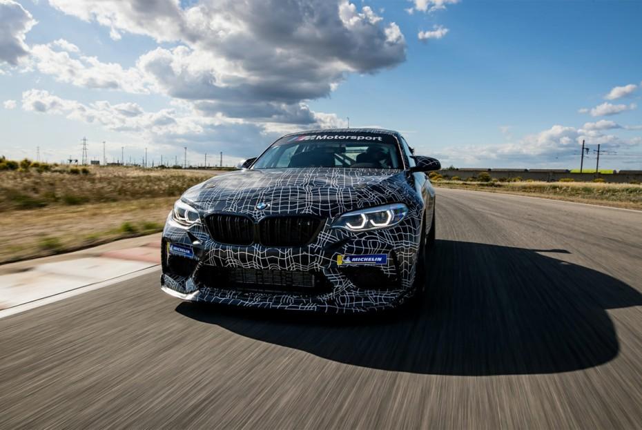El BMW M2 CS será extraordinario: casi de competición