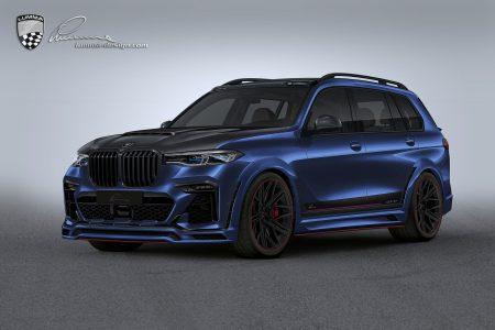 El BMW X7 de Lumma Design parece sacado de un videojuego... pero es real