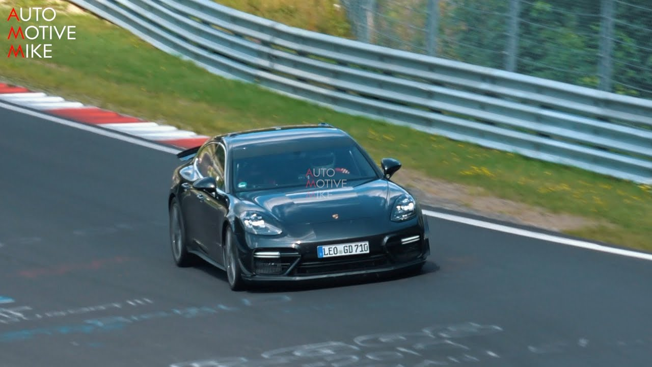 WHAT IS PORSCHE TESTING WITH THIS PANAMERA TURBO AT THE NÜRBURGRING??