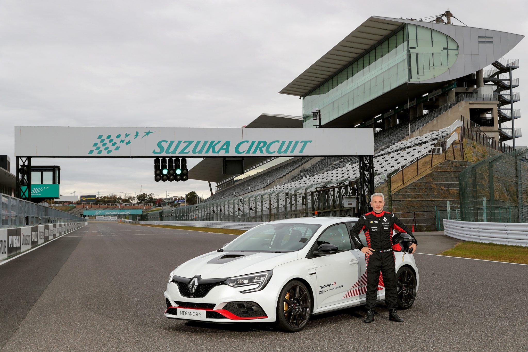 El Renault Mégane RS Trophy-R también es ahora el nuevo tracción delantera más rápido de Suzuka