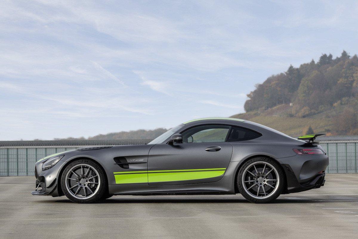 El Mercedes AMG GT Black Series llegará en primavera: será bestial