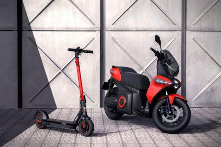 La SEAT e-Scooter es la primera moto de la marca: Es eléctrica y tiene 115 km de autonomía