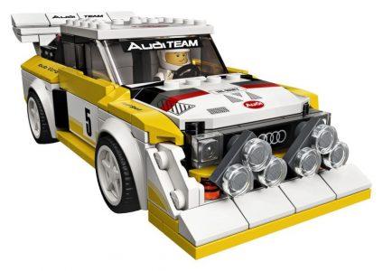Ya puedes hacerte con un Audi Sport Quattro S1 de LEGO