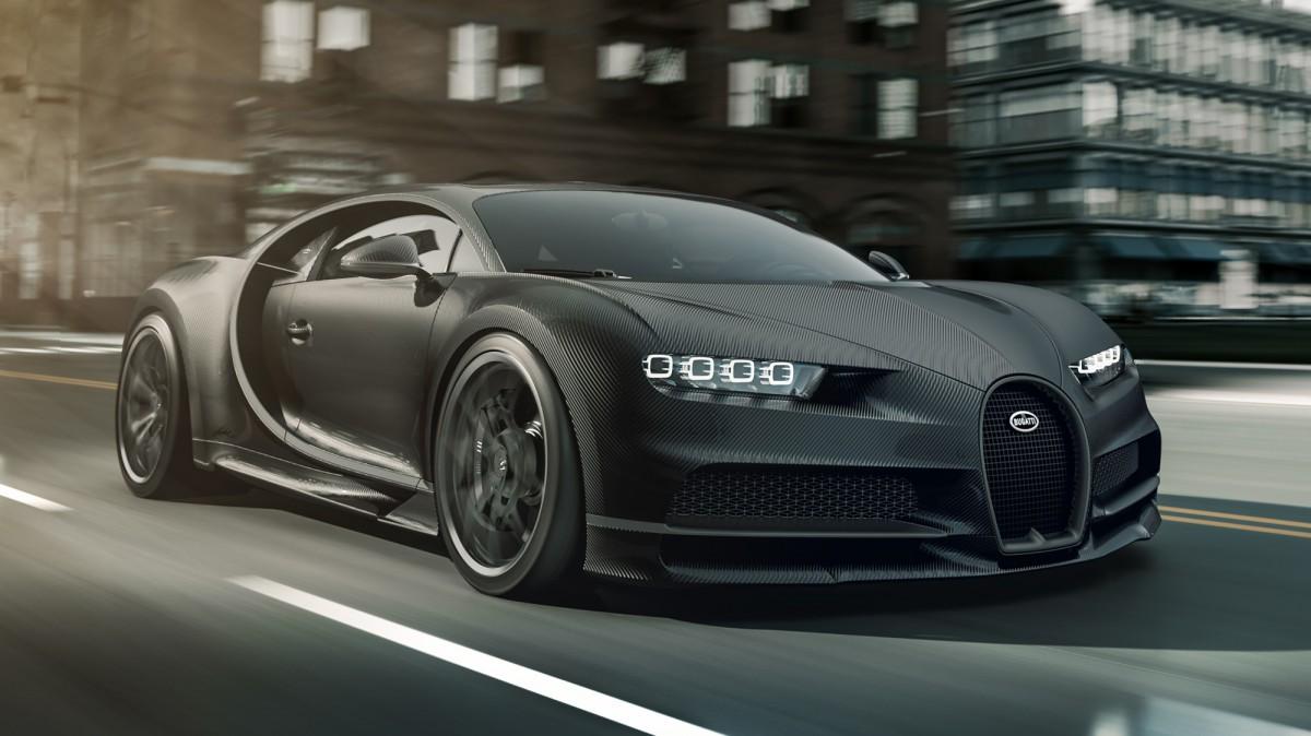 Bugatti Chiron Noire: 3 millones de euros y sólo 20 unidades producidas