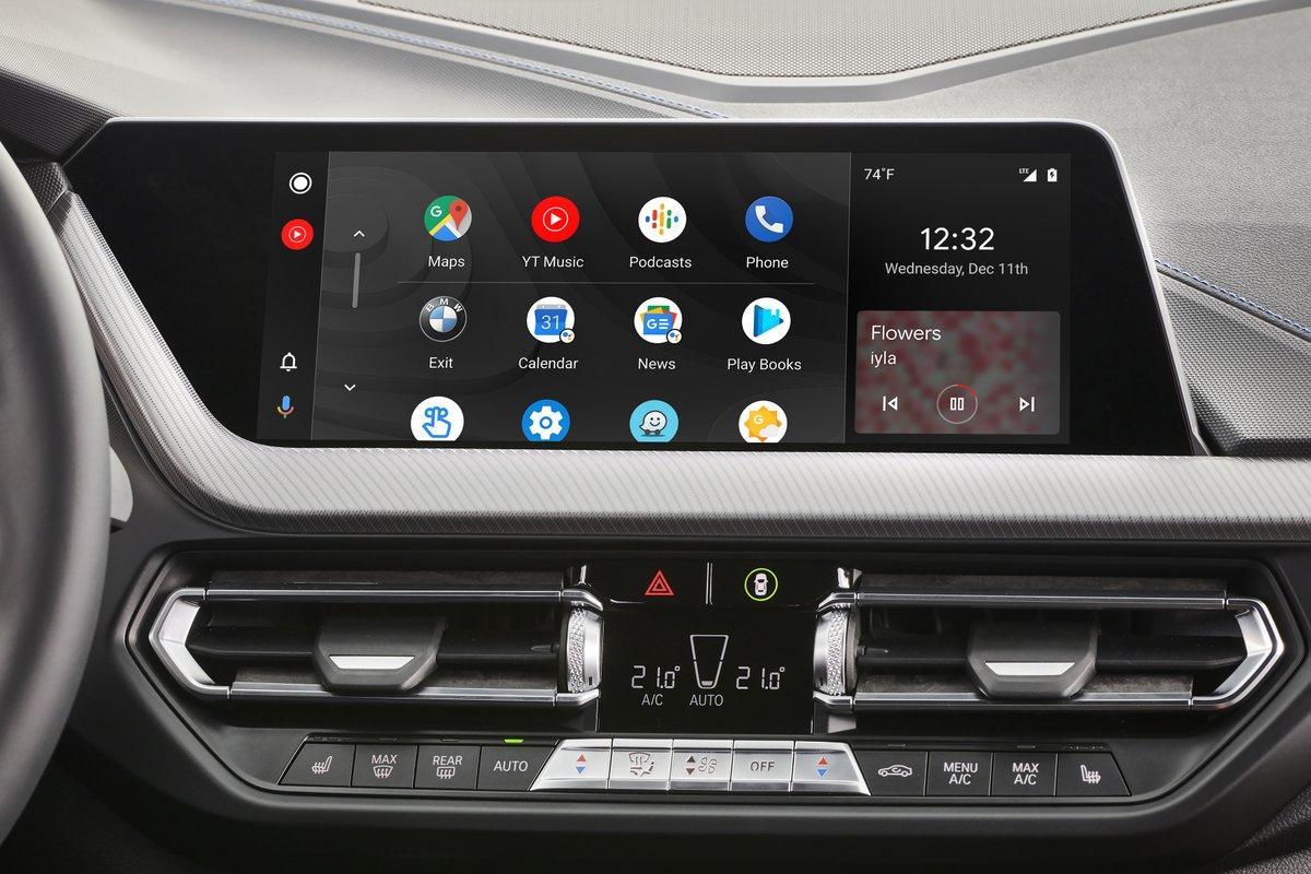 Es oficial: Android Auto llegará a BMW en 2020 y será inalámbrico