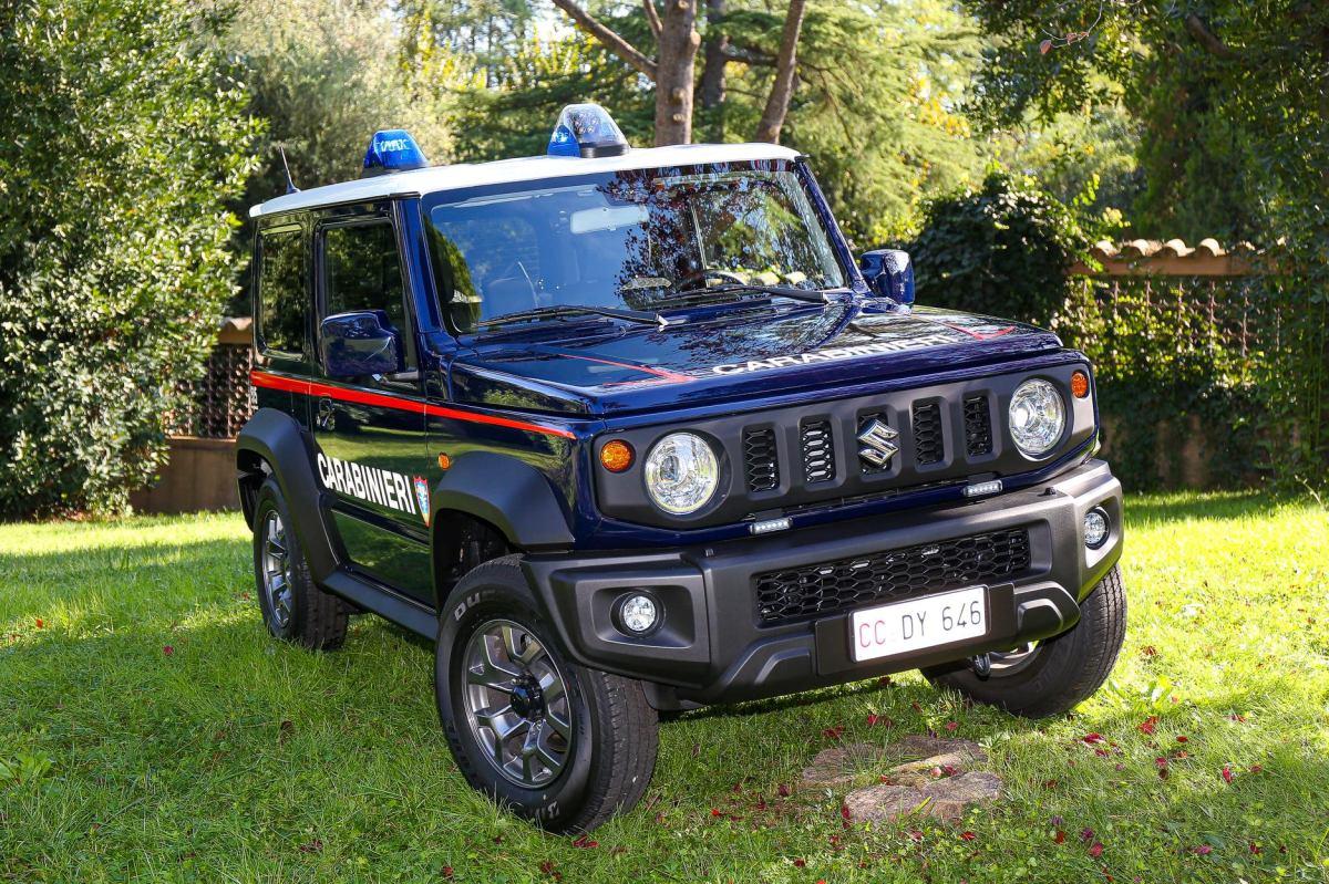 Los Carabinieri incorporan el Suzuki Jimny a su flota