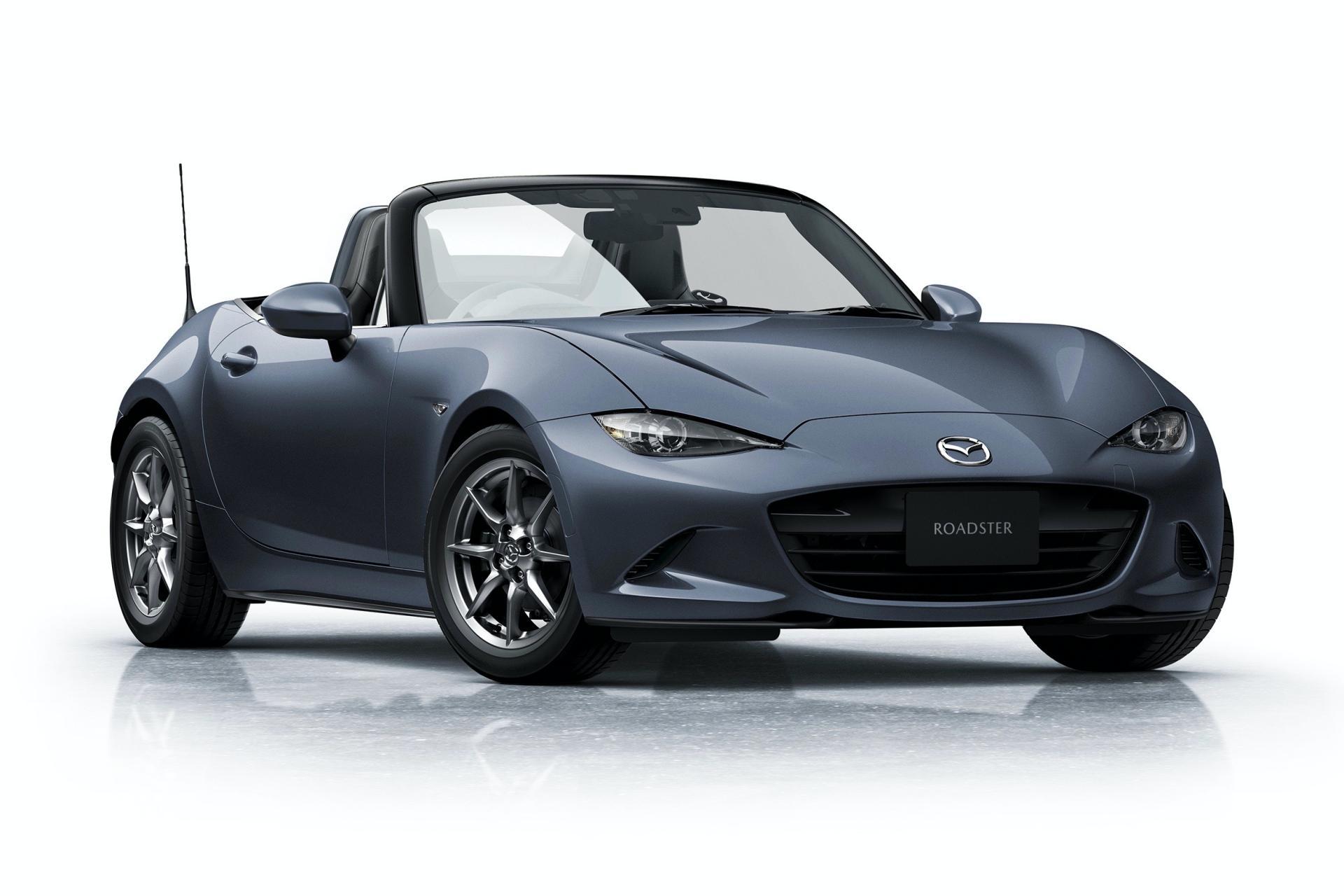 Mazda MX-5 2020: Nuevo color de carrocería y nuevas llantas Rays más ligeras