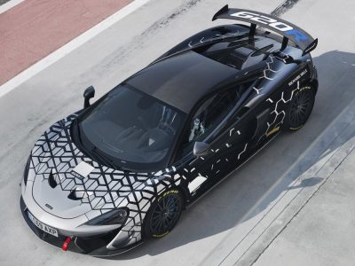 McLaren 620R: 350 unidades de esta versión de carreras homologada para calle