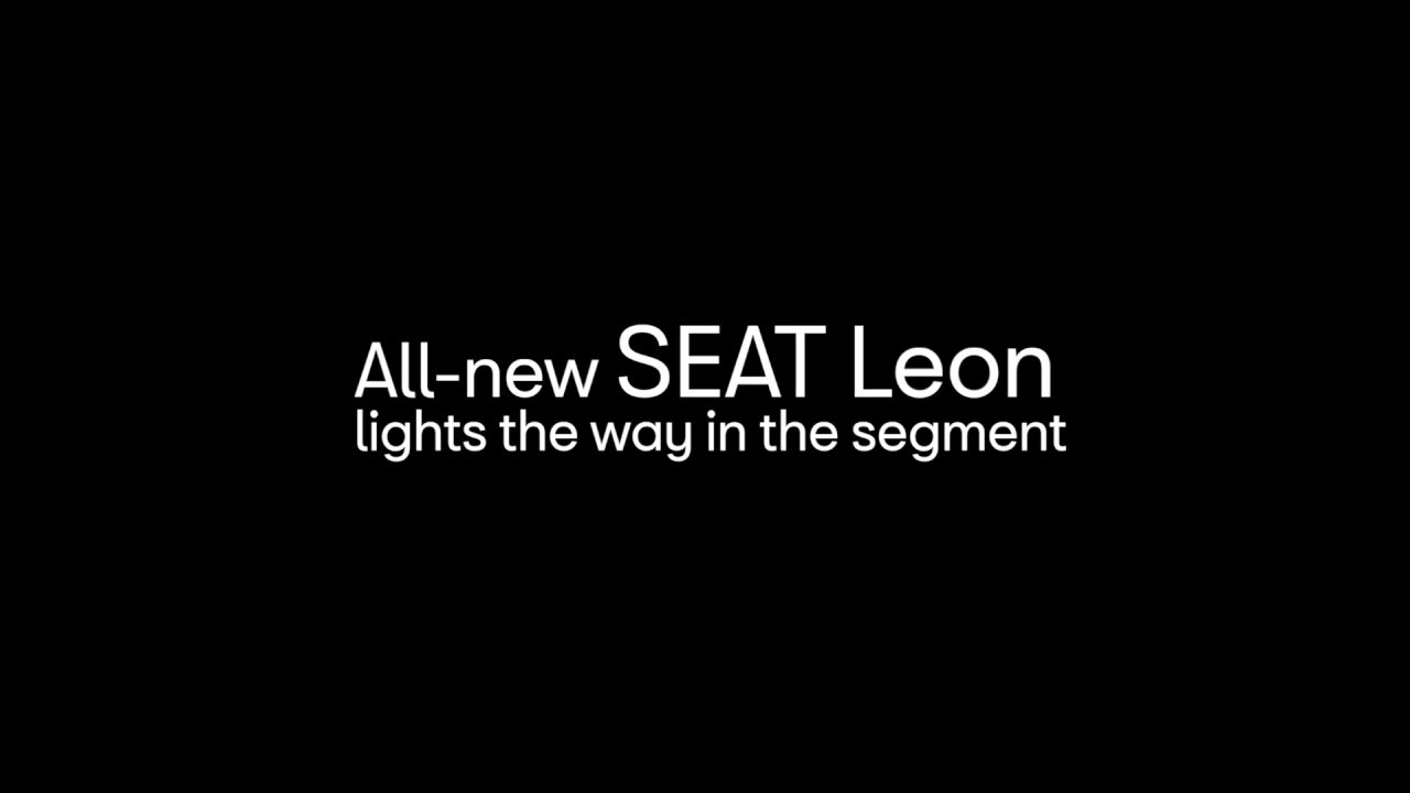All-new SEAT Leon lights the way in the segment